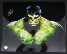 Stan Lee Hulk Marvel Autographed/Signed 16x20 Inch Photo STAN LEE HOLO SLC54334