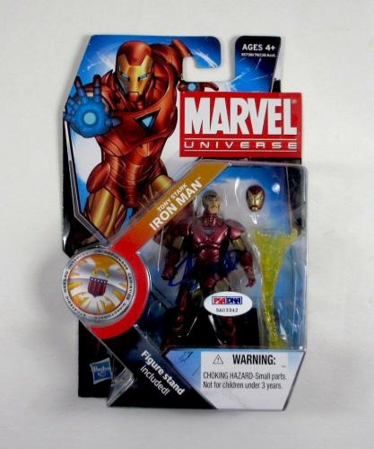 Stan Lee Iron Man Autographed Signed Action Figure Certified PSA/DNA COA AFTAL