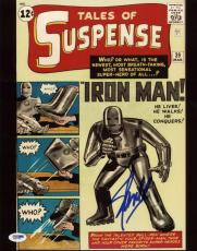 Stan Lee Iron Man Tales Of Suspense Signed 11X14 Photo PSA/DNA #X31078