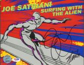 STAN LEE & JOE SATRIANI Signed MARVEL Surfing With The Alien 8x10 Photo PSA/DNA