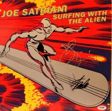 "STAN LEE & JOE SATRIANI Signed ""Surfing With The Alien"" Album PSA/DNA #AB63580"