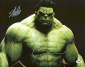 Stan Lee & Mark Ruffalo The Hulk Signed 11X14 Photo PSA/DNA #6A20554
