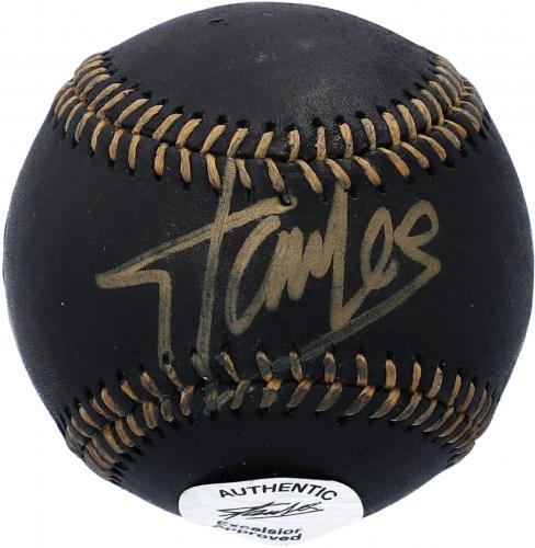 Stan Lee Marvel Autographed Black MLB Baseball - JSA