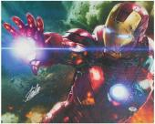 Stan Lee Marvel Comics Signed 16X20 Iron Man Canvas PSA/DNA #W18513