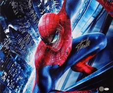 Stan Lee Marvel Comics Signed 22x24 Spiderman Canvas JSA