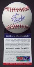 Stan Lee Marvel Legend Signed Autographed Romlb Baseball Psa/dna Coa #5a03231