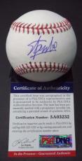 Stan Lee Marvel Legend Signed Autographed Romlb Baseball Psa/dna Coa #5a03232