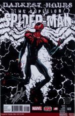 Stan Lee Marvel Signed 11x17 Darkest Hours Spider-Man Photo Lee Hologram