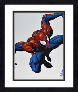 Stan Lee Marvel Signed 16x20 Photo Spider-Man PSA/DNA #W80221