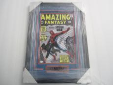Stan Lee Marvel signed framed matted 11x14 Amazing Fantasy Spiderman JSA CAS COA