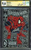 Stan Lee Marvel Signed Spider-Man Torment #1 Silver Cover Comic Graded 9.6 CGC
