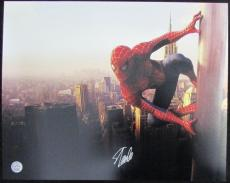 Stan Lee Marvel Spider-Man Autographed/Signed 16x20 Inch Photo LEE HOLO SLC54296
