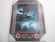 Stan Lee Marvel Spiderman signed autographed framed matted 16x20 PSA DNA COA