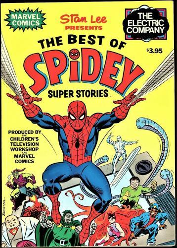 Stan Lee Presents Best Of Spidey Super Stories 1978 1st Print, Ms Marvel, Medusa