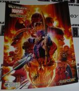Stan Lee Ryota Niitsuma Signed Marvel vs Capcom 3 18x24 Poster PSA/DNA COA SDCC