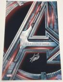 Stan Lee Signed 12x18 Photo Autograph Marvel Avengers Poster Excelsior Hologram