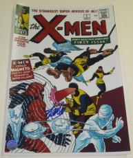 Stan Lee Signed 12x18 Photo X-men Comic Cover Excelsior Hologram Exact Proof