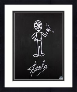 Stan Lee Signed 16x20 Canvas w/ Spider-man Sketch PSA/DNA #W00380
