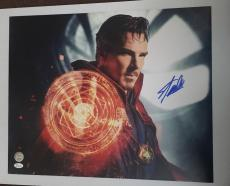 Stan Lee Signed 16x20 Photo Marvel Universe Doctor Strange JSA COA 3