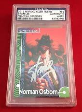 Stan Lee Signed 2013 Marvel Fleer Retro Norman Osborn Slab - PSA/DNA # 83583765