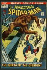 Stan Lee Signed Amazing Spider-Man #110 Comic Book The Gibbon PSA/DNA #W18723
