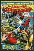 Stan Lee Signed Amazing Spider-Man #125 Comic Book The Man-Wolf PSA/DNA #W18620