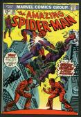 Stan Lee Signed Amazing Spider-Man #136 Comic Book The Green Goblin PSA #W18746