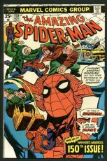Stan Lee Signed Amazing Spider-Man #150 Comic Book Vulture/Kingpin PSA #W18619