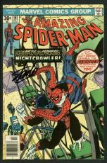 Stan Lee Signed Amazing Spider-Man #161 Comic Book Nightcrawler PSA/DNA #W18738