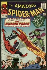 Stan Lee Signed Amazing Spider-Man #17 Comic 2Nd Goblin Auto Mint 10! PSA V07983