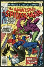 Stan Lee Signed Amazing Spider-Man #179 Comic Book Green Goblin PSA/DNA #W18773