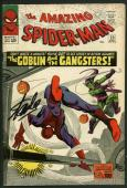 Stan Lee Signed Amazing Spider-Man #23 Comic Goblin Auto Graded 10! PSA #V07977