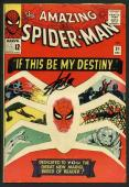 Stan Lee Signed Amazing Spider-Man #31 Comic Book 1St Gwen Stacy! PSA #V07968