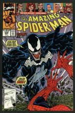 Stan Lee Signed Amazing Spider-Man #332 Comic Book Venom PSA/DNA #W18762