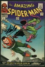 Stan Lee Signed Amazing Spider-Man #39 Comic 1St Romita Auto Mint 10! PSA V07985
