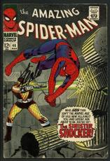 Stan Lee Signed Amazing Spider-Man #46 Comic Book The Shocker PSA/DNA #W18665