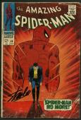 Stan Lee Signed Amazing Spider-Man 50 Comic 1St Kingpin Auto Mint 10! PSA V07981