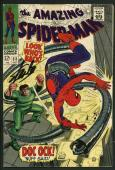 Stan Lee Signed Amazing Spider-Man #53 Comic Book Dr Octopus PSA/DNA #W18667
