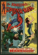 Stan Lee Signed Amazing Spider-Man #59 Comic Book 1St Mary Jane PSA/DNA #W18783