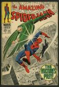 Stan Lee Signed Amazing Spider-Man #64 Comic Book The Vulture'S Prey PSA #W18734