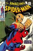 Stan Lee Signed Amazing Spider-Man #69 Comic Book Crush The Kingpin PSA #W18606