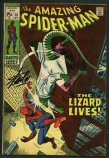 Stan Lee Signed Amazing Spider-Man #76 Comic Book The Lizard Lives PSA #W18803
