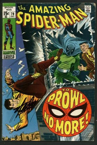Stan Lee Signed Amazing Spider-Man #79 Comic Book The Prowler PSA/DNA #W18782