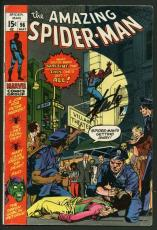Stan Lee Signed Amazing Spider-Man #96 Comic Book The Green Goblin PSA #W18623