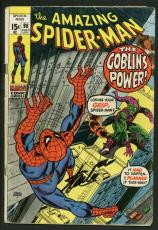 Stan Lee Signed Amazing Spider-Man #98 Comic Book The Green Goblin PSA #W18602