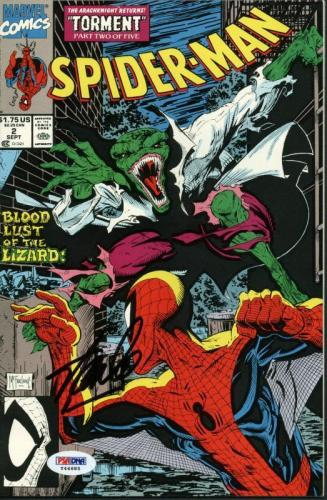 Stan Lee Signed Amazing Spider-Man Torment Part 2 Of 5 PSA/DNA #Y44685