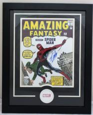 Stan Lee Signed Autographed 11x14 Spiderman Framed Photo JSA Authentic
