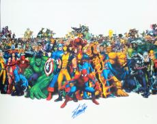 Stan Lee Signed Autographed 16x20 Photo JSA Authenticated 3