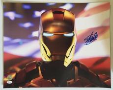 Stan Lee Signed Autographed 16x20 Photo Marvel Universe Iron Man JSA COA 14