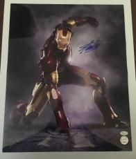 Stan Lee Signed Autographed 16x20 Photo Marvel Universe Iron Man JSA COA 15